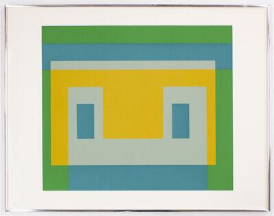 Josef Albers, 'Va 1 from the Portfolio Six Variants', 1969