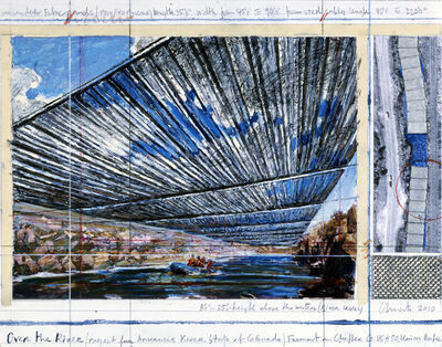 Christo, 'Over The River, Project for Arkansas River, State of Colorado'