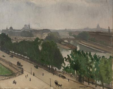 Albert Marquet, 'Vue de Paris avec Notre-Dame et le Vert-Galand', ca. 1909