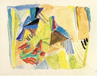 Max Weiler, 'Landscape with bird', c. 1955