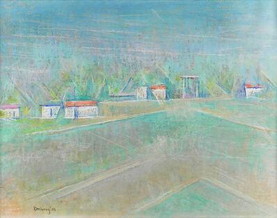 Andrew Dasburg, 'Green Spring Fields', 1969