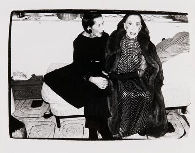 Andy Warhol, 'Diana Vreeland and Martha Graham', 1980