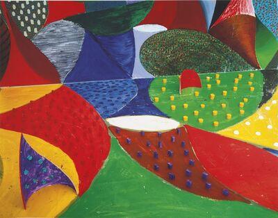 David Hockney, 'Fifth Detail, March 27, 1995', 1995