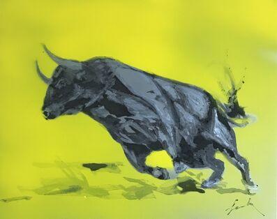 Famke Rousseau, 'Charging Bull', 2019