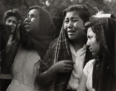 Rodrigo Moya, 'Tata Jesucristo, de la serie La muerte de Goitia, Xochimilco, México', 1960