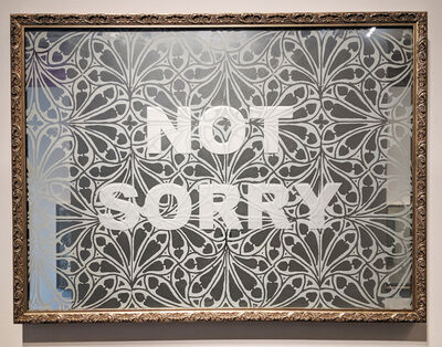 Amanda Manitach, 'Not Sorry', 2019