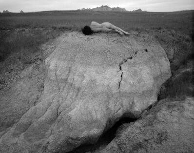 Judy Dater, 'Self Portrait, Badlands', 1981