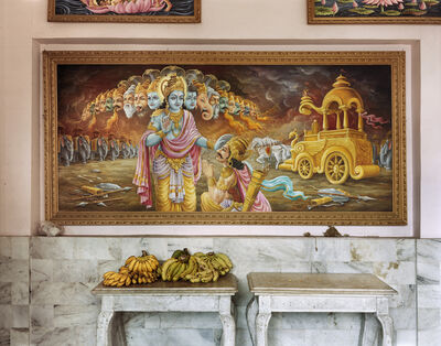 Laura McPhee, 'Puja (Prayer) Room, Sikka Palace (Now Replaced by High Rise Apartment Blocks), South Kolkata', 2005