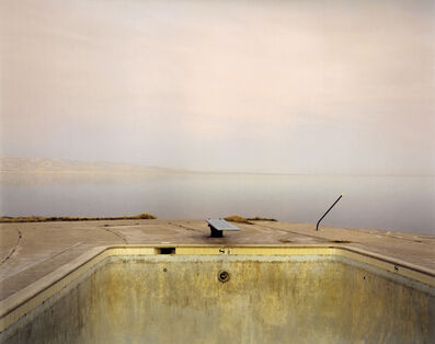 Richard Misrach, 'Diving Board, Salton Sea', 1983
