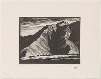 Paul Landacre, 'Desert Wall', 1931