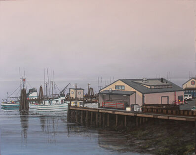 "William Glen Crooks, '""A Fisherman's Wharf""', 2019"