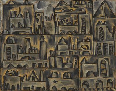 Julio Alpuy, 'Paisaje urbano en gris', 1945
