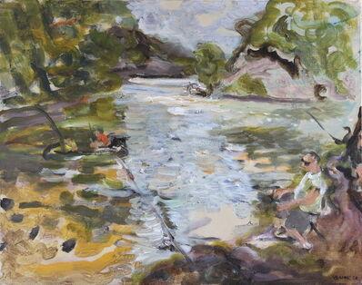 Natalia Laluq, 'Humber Marshes Fishers', 2020