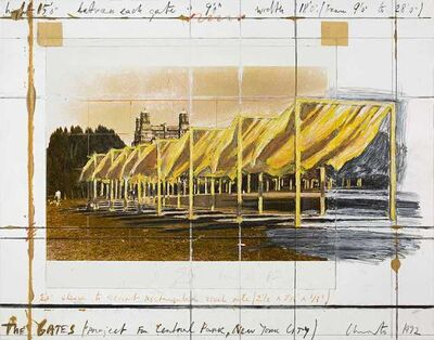 Christo, 'The Gates (Project for Central Park) ', 1992