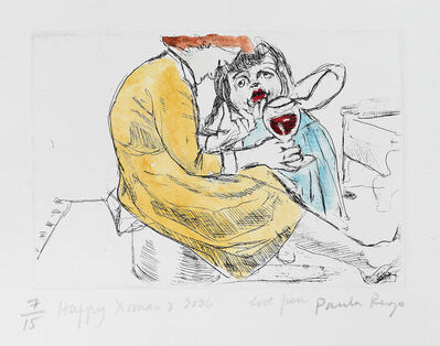 Paula Rego, 'Untitled [Woman with Red Wine]', 2006