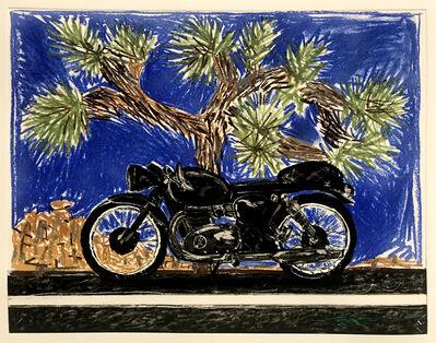 Erik Olson (b. 1982), 'Motorcycle: Joshua Tree', 2019