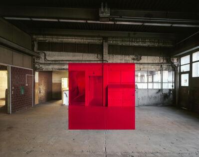 """Georges Rousse, '""""Esch sur Alzette""""', 2019"""