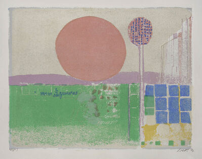 Bruno Saetti, 'Sei muri', 1977