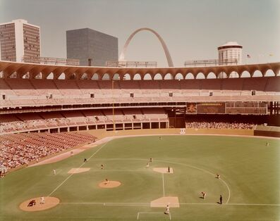 Joel Meyerowitz, 'Busch Memoral Stadium from the series St. Louis and the Arch', 1978