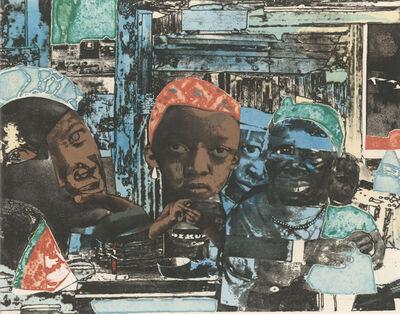 Romare Bearden, 'Train', 1975