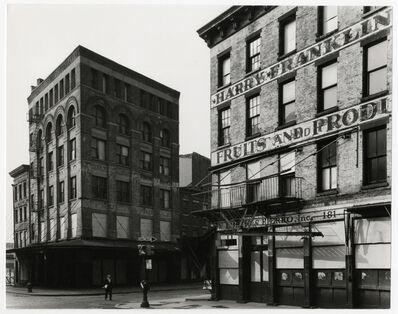 Danny Lyon, 'Looking North from Chambers Street towards Washington, 1966', 1966