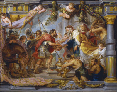 Peter Paul Rubens, 'The Meeting of Abraham and Melchizedek', ca. 1626