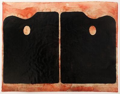 Jim Dine, 'Two Black Palettes', 1964