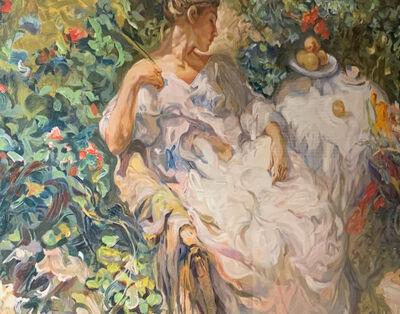 Jose Royo, 'Sentada en el Jardin', 1996