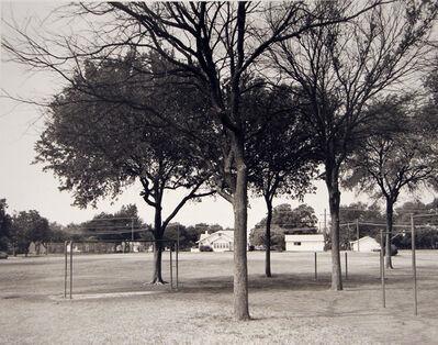 Frank Gohlke, 'Playground of Crockett Elementary School, where I attended grades 1-7', 1984