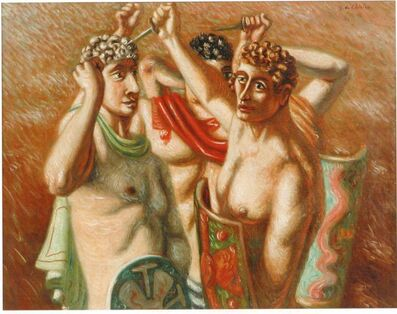 Giorgio de Chirico, 'Gladiatori', 1928
