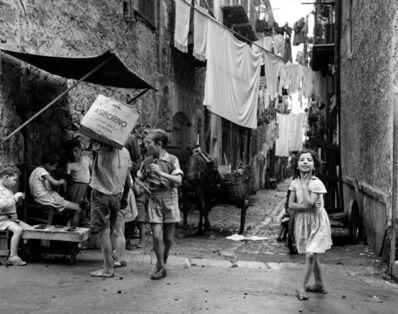 Elio Ciol, 'Crescendo in fretta, Palermo', 1957