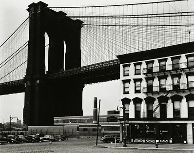 Brett Weston, 'Brooklyn Bridge, New York', 1946-printed 1948