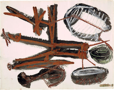 David Smith, 'ΔΣ 11/7/54 4', 1954