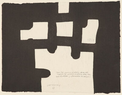 Eduardo Chillida, 'Marrak', 1985