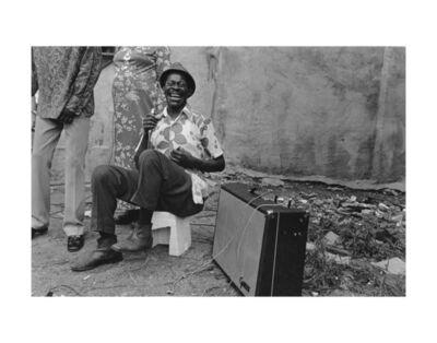 Dawoud Bey, 'The Blues Singer, Harlem, NY', 1976