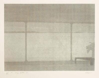 William Tillyer, 'Dry Lake I', 1971