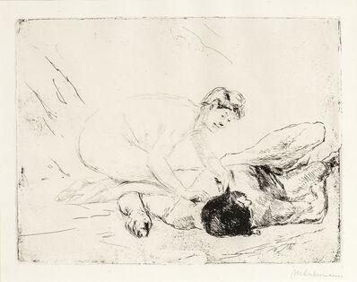 Max Liebermann, 'Simson und Delila', 1906