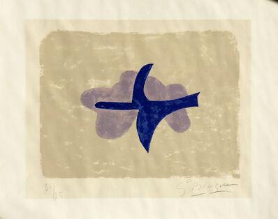 Georges Braque, 'Dans le ciel  (Oiseau XV) ', 1958