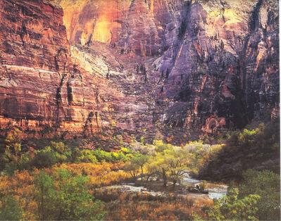 Christopher Burkett, 'Twilight, Virgin River and Zion Canyon, Utah', 1987