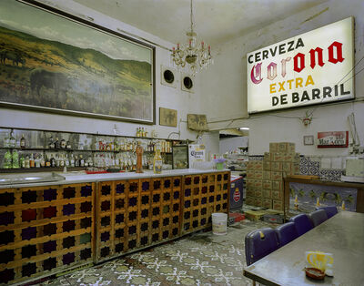Jim Dow, 'Bar at Cantina La Faena, Centro Historico, Mexico City, Distrito Federal, Mexico', 2007