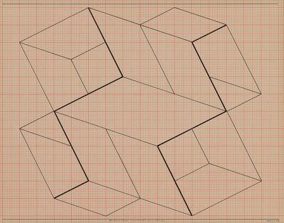 Josef Albers, 'Structural Constellation', 1954