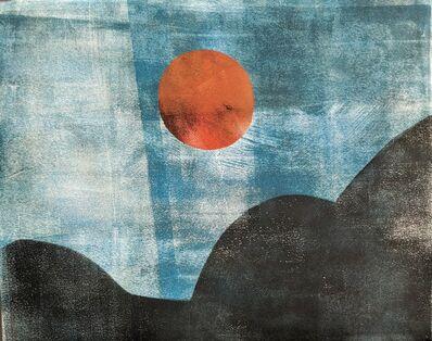 Benji Rowan, 'The Moon Over Three Hills', 2020