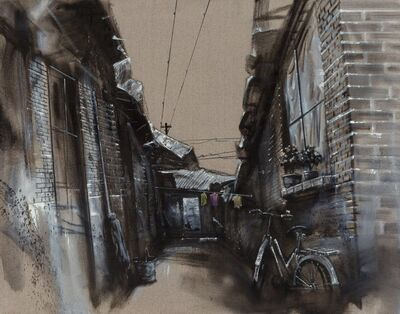 Lu Hao, 'Untitled (Bicycle in Alley)', 2006