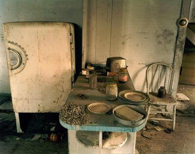 Steve Fitch, 'Kitchen In A House Near Regent, Western North Dakota, May 18', 2001