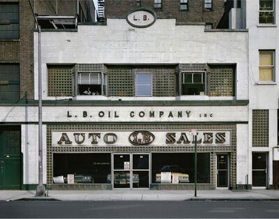 Wayne Sorce, 'L.B. Oil, New York', 1984