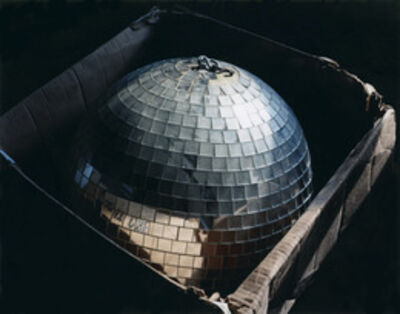 Lisa Kereszi, 'Disco ball in box, Connecticut', 2008