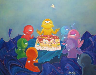 Yuxi Zhang, 'Cake Sharing', 2013