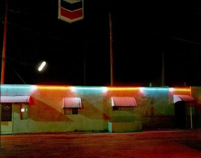 Steve Fitch, 'Villa Motel, Albquerque, New Mexico, February 21', 1980