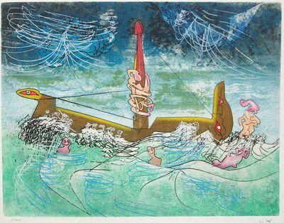 Roberto Matta, 'Hom'mere #7', 1975