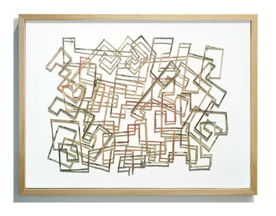 Máximo González, 'Project: Small Money Labyrinth. S/T #1', 2016